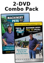 Machinery Pete 2-DVD Combo Pack