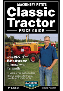 Machinery Pete S Classic Tractor Price Guide